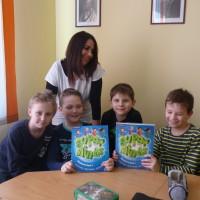 Katka se svými studenty